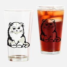 Cute White Persian Kitten Pint Glass