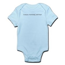 future running partner Infant Bodysuit