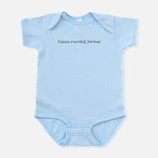 future running partner Infant Bodysuit