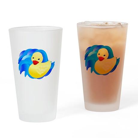 Rubber Ducky Pint Glass