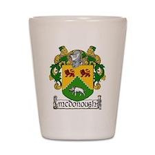 McDonough Coat of Arms Shot Glass