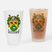 McDonough Coat of Arms Pint Glass
