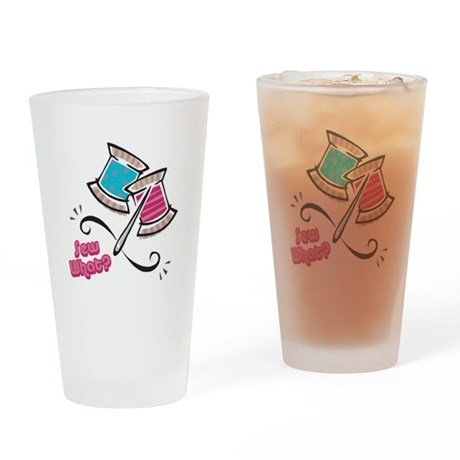 So (Sew) What? Design Pint Glass