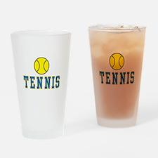 Tennis Pint Glass