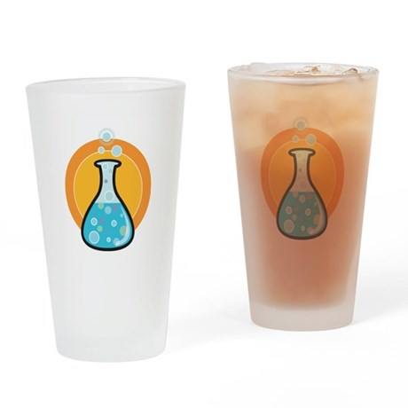 Science Beaker Pint Glass