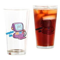 Computer Chic Pint Glass