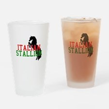 Italian Stallion Pint Glass