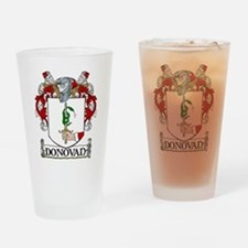 Donovan Coat of Arms Pint Glass