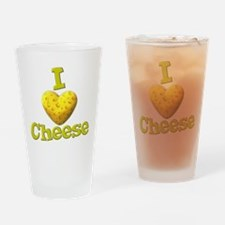 funny cute i heart love cheese cheesey heart Drink