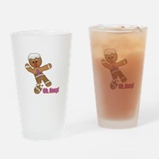 Oh Snap Gingerbread Cookie Pint Glass