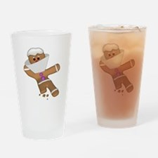Funny Gingerbread (Ginger Sna Pint Glass