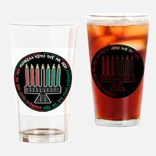 Happy Kwanzaa (Yen Iwe Na Her Pint Glass