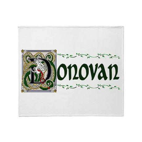 Donovan Celtic Dragon Throw Blanket