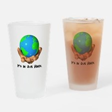 Earth In Our Hands Pint Glass