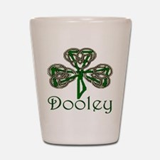 Dooley Shamrock Shot Glass