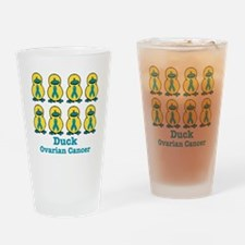 Ducks for a Cause Ovarian Can Pint Glass