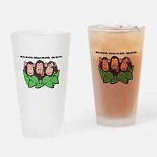 No Evil Monkeys Pint Glass
