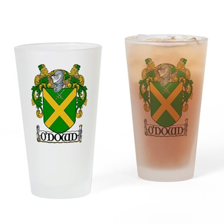 O'Dowd Coat of Arms Pint Glass