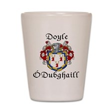 Doyle In Irish & English Shot Glass