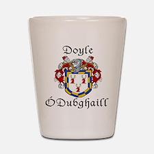 Doyle In Irish & English Shot Glass