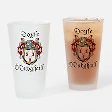 Doyle In Irish & English Pint Glass