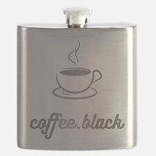 Coffee Black Flask