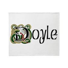 Doyle Celtic Dragon Throw Blanket