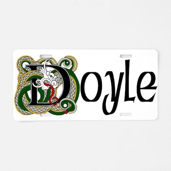 Doyle Celtic Dragon Aluminum License Plate