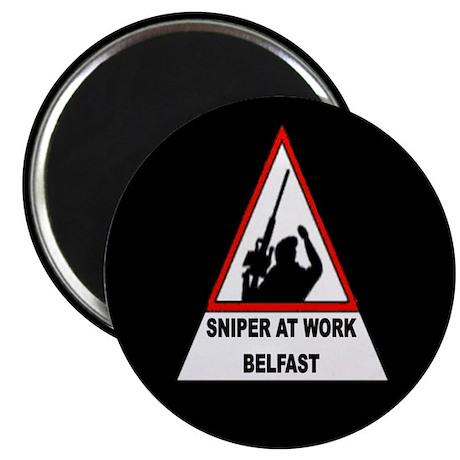 """Sinper At Work / Belfast 2.25"""" Magnet (100 pack)"""