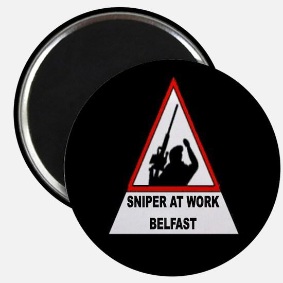 Sinper At Work / Belfast Magnet