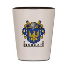 Dunne Coat of Arms Shot Glass