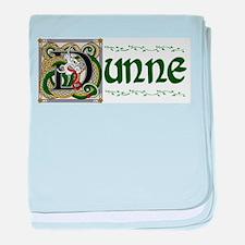 Dunne Celtic Dragon baby blanket