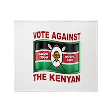 AFRICAN BORN Throw Blanket