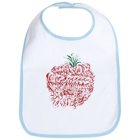 Abstract Apple Bib