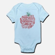 Abstract Apple Infant Bodysuit