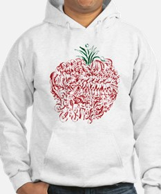 Abstract Apple Hoodie