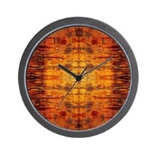 Koa Wood Wall Clock