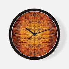 Koa Wood Wall Clock