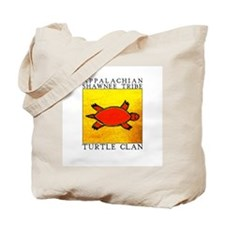 Turtle Clan Yellow Tote Bag