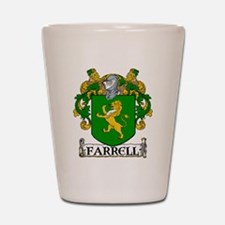 Farrell Coat of Arms Shot Glass