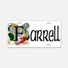 Farrell Celtic Dragon Aluminum License Plate
