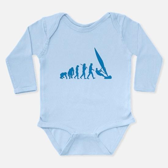 Evolution of Windsurfing Long Sleeve Infant Bodysu