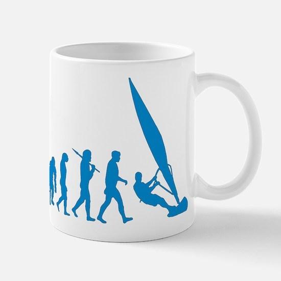 Evolution Of Windsurfing Mug Mugs