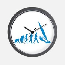 Evolution of Windsurfing Wall Clock