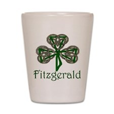 Fitzgerald Shamrock Shot Glass