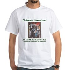Men's White Celebrate Adventure T-Shirt