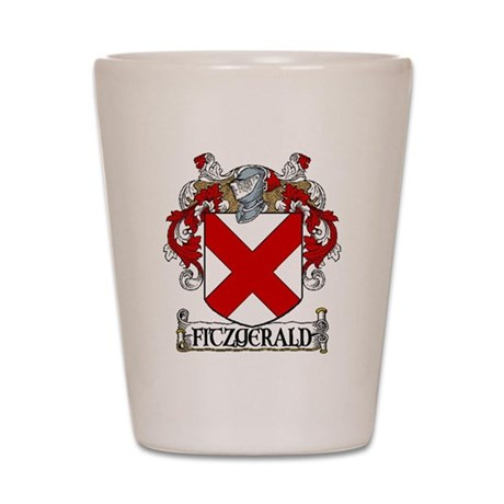 Fitzgerald Coat of Arms Shot Glass