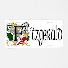 Fitzgerald Celtic Dragon Aluminum License Plate