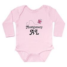 Pretty Montgomery Alabama Gift Onesie Romper Suit