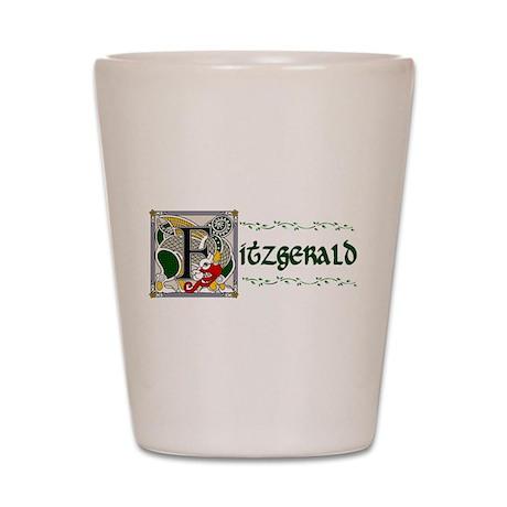 Fitzgerald Celtic Dragon Shot Glass